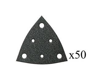 Fein Jeu de 50 triangles abrasifs perforés grain 180 fein63717114019