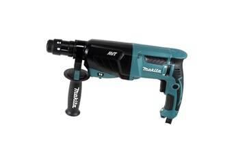 Makita hr 2631 ftj perforateur - burineur sds-plus 800 w 26 mm + coffret makpac + mandrin de serrage