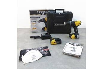 Marque Perceuse peugeot perceuse sans fil a percussion - energydrill - 18vp20n - 2x 2 ah - 18 v