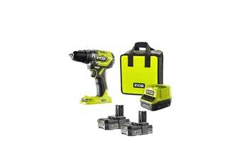 Ryobi Perceuse-visseuse à percussion brushless e-torque 18v one+ - batteries lithium+ 2x 2,0 ah r18pd5-220s ryobi