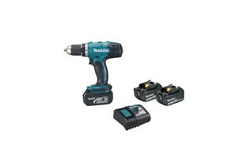 Makita Perceuse visseuse makita 18v - 3 batteries bl1830 3.0ah - 1 chargeur dc18sd - ddf453sfe3