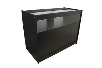 Monstershop Vitrine comptoir de magasin noir b1200