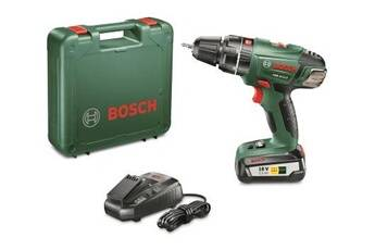 Bosch Coffret bosch perceuse visseuse à percussion sans fil psb 18 li-2,5 0.603.982.30b