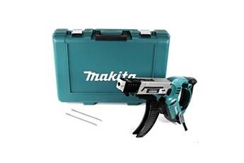 Makita 6842 visseuse plaquiste  470 w + coffret de transport + 3x embouts ph2 bits pour magasin à vis 4 x 25-55 mm