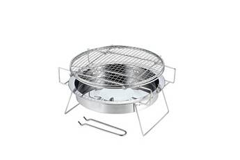 Generic Barbecue grill bricolage portable camping barbecue cuisinière cuisinière en plein air poêle inox pealer