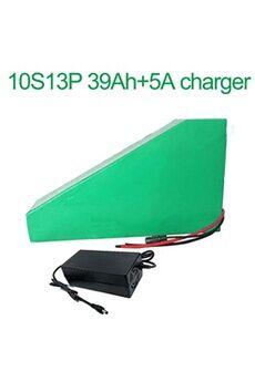 Batterie 39ah 36v  Li-ion Pour E-bike Avec Chargeur 5a Batterie 39ah 36v 18650 li-ion pour e-bike vélo électrique 10s13p  330x310x200x70x70x45mm avec chargeur 5a
