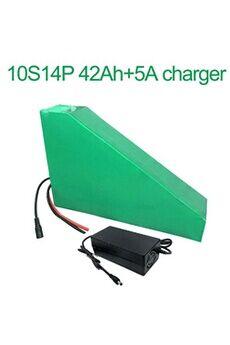 Batterie 42ah 36v  Li-ion Pour  E-bike  Avec Chargeur 5a Batterie 42ah 36v 18650 li-ion pour  e-bike vélo électrique 10s14p  350x305x210x90x70x50mm avec chargeur 5a