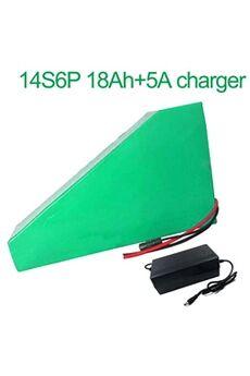 Batterie 18ah 52v Li-ion Pour E-bike   Avec Chargeur 5a Batterie 18ah 52v 18650 li-ion pour e-bike vélo électrique 14s6p  235 * 215 * 180 * 70 * 70 * 50mm avec chargeur 5a