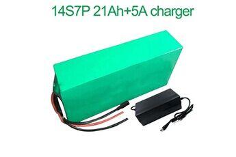Batterie 21ah 52v  Li-ion Pour  E-bike  Avec Chargeur 5a Batterie 21ah 52v 18650 li-ion pour  e-bike vélo électrique 14s7p  280 * 140 * 70mm avec chargeur 5a