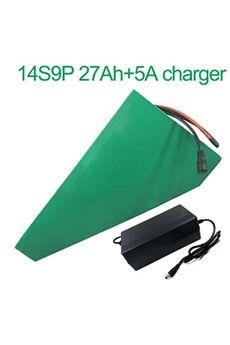 Batterie 27ah 52v  Li-ion Pour Vélo Electrique A Deux Roues Moto  Avec Chargeur 5a Batterie 27ah 52v 18650 li-ion pour vélo électrique à deux roues moto 14s9p 330 * 310 * 200 * 70 * 70 * 45mm avec chargeur 5a