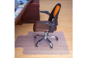 Nouveau 48x 36 pouces 1,5 mm d'épaisseur pvc bureau à domicile chaise tapis de sol pour carreaux de bois