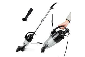 sotech - balai éléctrique, aspirateur 2 en 1  balai et à main, noir, capacité du bac à poussière:  1,3l
