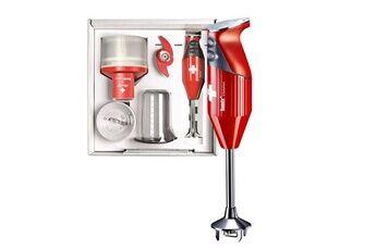 Bamix Mixeur plongeant multifonctions 200w rouge - mx105077 - bamix