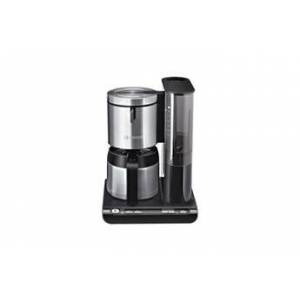 Bosch styline cafetiere filtre isotherme tka8653 noir/inox - 8 tasses