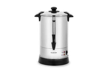 KLARSTEIN Excelsa cafetière à filtre rond avec robinet - jusqu´à 30 tasses - fonction maintien au chaud - 950w - inox