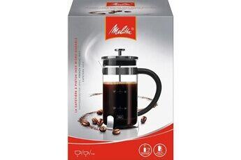 Marque Cafetiere - theiere - chocolatiere  cafetiere a piston premium en verre et inox 8 tasses