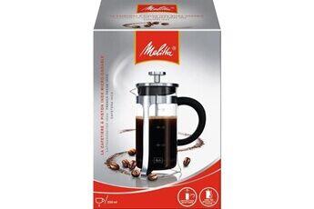 Marque Cafetiere - theiere - chocolatiere  cafetiere a piston micro-ondable premium en verre et inox 3 tasses