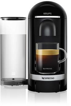 Krups Nespresso Vertuo Plus Noire 1,8L Finitions Chromées YY2779FD