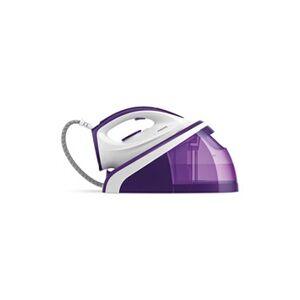 Philips centrale vapeur blanc et violet hi5914/30