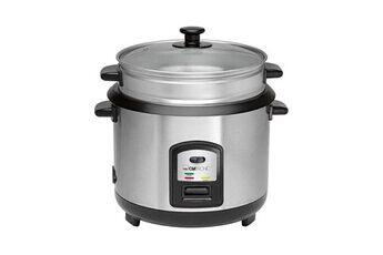 Clatronic Cuiseur de riz et cuisson vapeur clatronic rk 3567 - inox