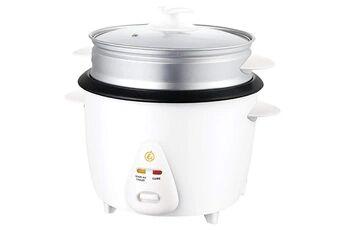 Naelia cgf rn201 nae cuiseur à riz avec panier vapeur blanc 2,8 l
