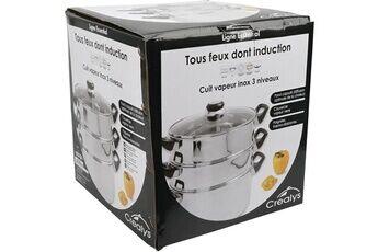 Marque Cuit vapeur 503443 cuit vpeur inox d24cm + couvercle induction