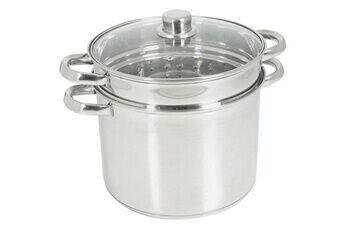 Marque Cuit vapeur 504626 cuit pates inox 8l induction