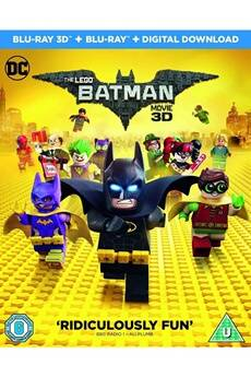 Warner Home Video The lego batman movie blu-ray 3d   blu-ray   digital download