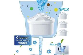 Generic Pour brita maxtra + plus filtre à eau cartouches de rechange cartouches recharges pack 3pcs