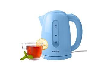 Camry cr1254b bouilloire électrique sans fil. 1,7 litres, filtre anti-calcaire, base 360º 2200w azul