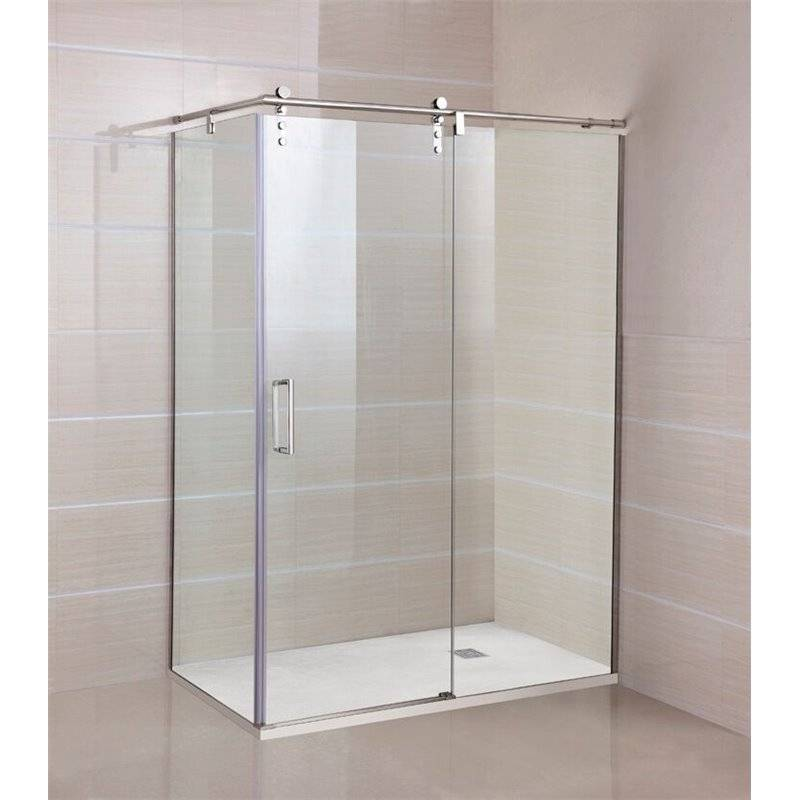 GME® - Pare-douche d'angle 1 porte coulissante MOVING GME