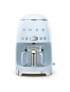 Smeg Machine à café filtre Smeg Années 50 Bleu Azur