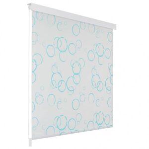 Vidaxl store roulant de douche 120 x 240 cm bulle Accessoires de salle de bain Rideaux de douche - Publicité