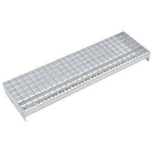 Vidaxl marches d'escalier 4 pcs acier galvanisé pressé 600x240 mm Outils Échelles & échafaudages - Publicité