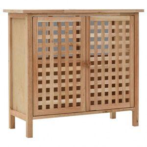 Vidaxl armoire pour lavabo bois de noyer massif 66 x 29 x 61 cm Armoires & meubles de rangement Meubles-lavabos de salle de bains - Publicité