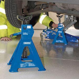 Draper tools vorel chandelles à crémaillère 2 pièces 4 tonnes 30878 Manutention de matériaux Crics & chariots élévateurs - Publicité