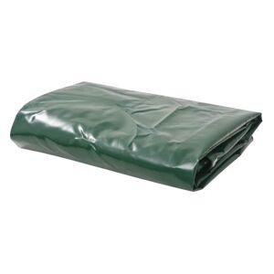 Vidaxl b¢che 650 g / m² 4 x 5 m vert Pelouses & jardins Parasols & voiles d'ombrage - Publicité