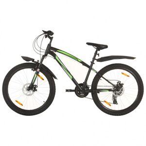 Vidaxl vélo de montagne 21 vitesses roues de 26 pouces 36 cm noir Loisirs de plein air Vélos - Publicité
