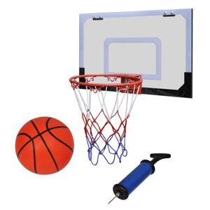 Vidaxl mini panier basket ball avec ballon et pompe - Publicité