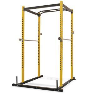 Vidaxl portant de musculation fitness 140 x 145 x 214 cm jaune et noir Coiffure & cosmétologie Fauteuils de coiffure - Publicité