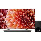 Sony Téléviseurs UHD-4K Sony KD-55XF9005BAEP + HT-XF9000