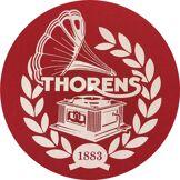Thorens Plateaux et couvres-plateaux Thorens Feutrine 1883 Rouge et Blanc
