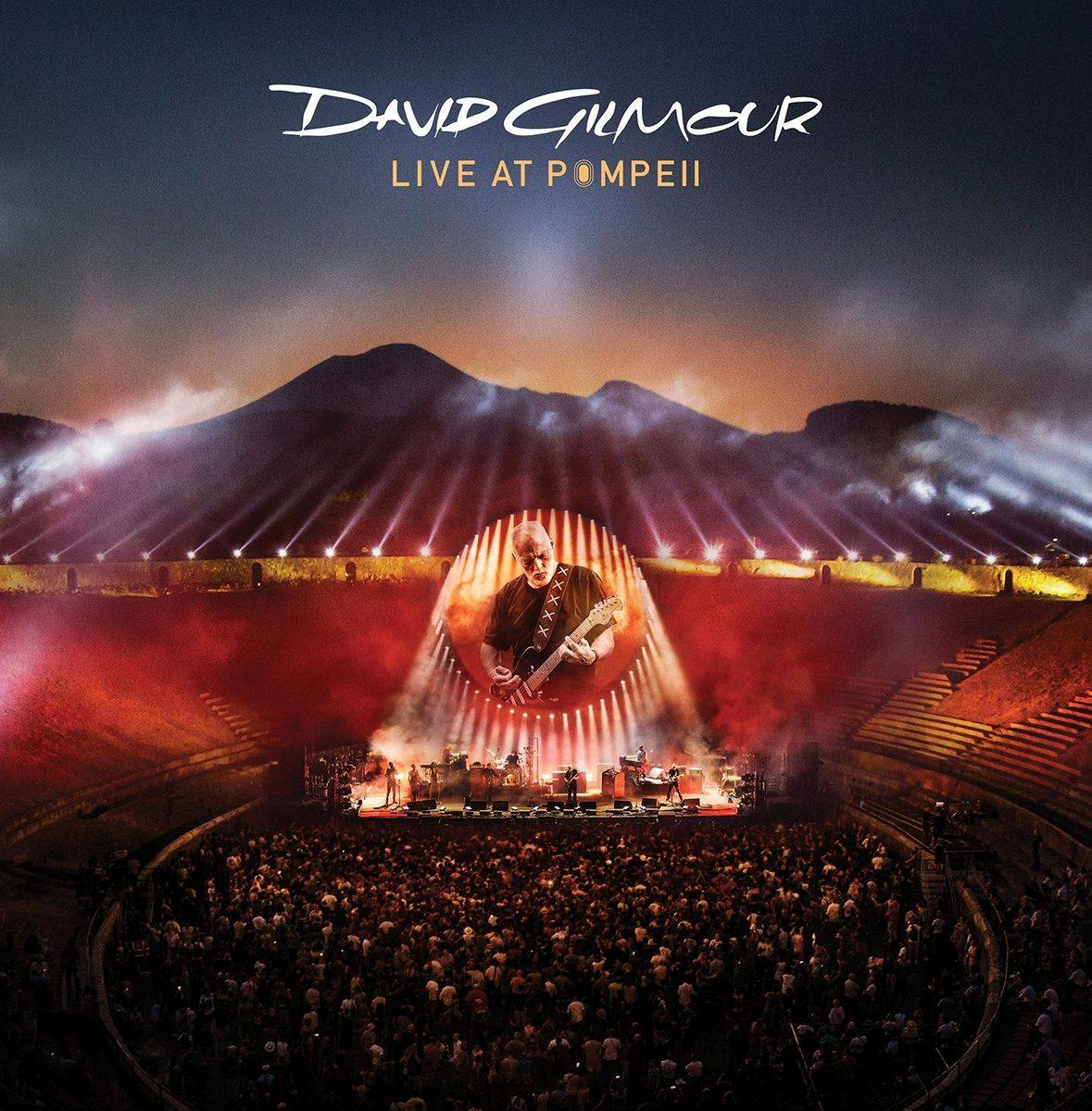 Colombia Records Disques vinyle Pop Rock Columbia Records David Gilmour - Live At Pompeii (4 LP)