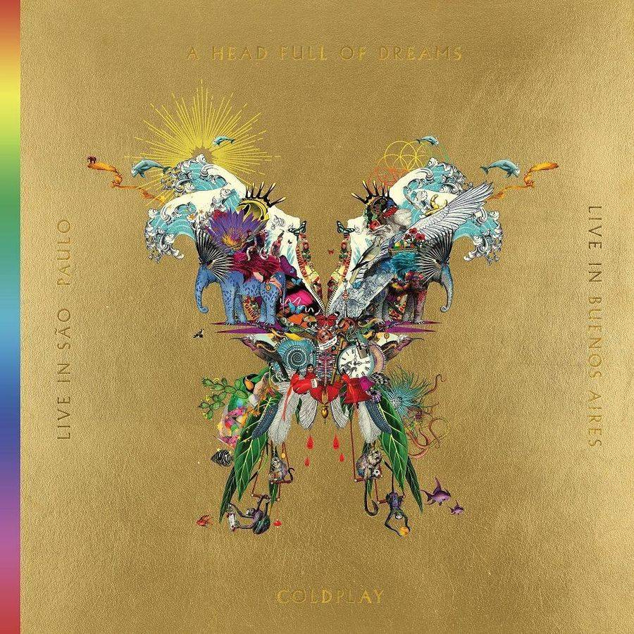 Warner Music Disques vinyle Pop Rock Warner Music Coldplay - Live in Buenos Aires - Live in Sao Paulo - A Head Full Of Dreams
