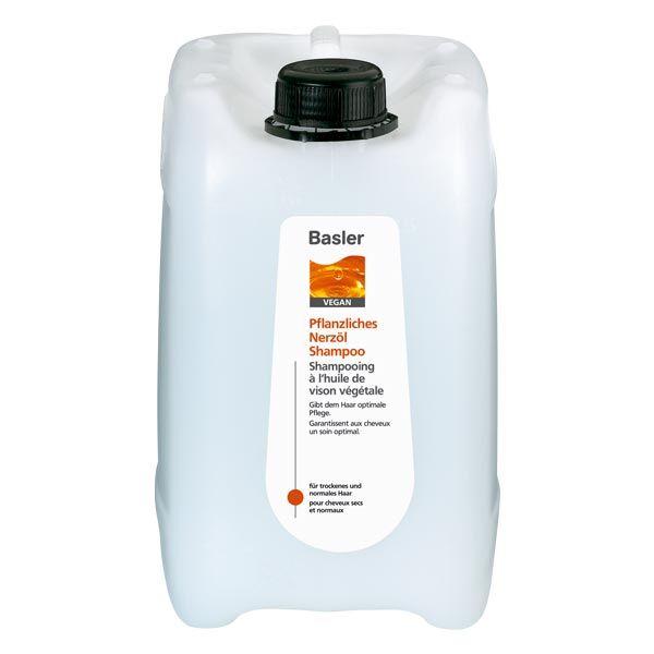 Basler Shampooing à l'huile de vison végétale Bidon de 5 litre