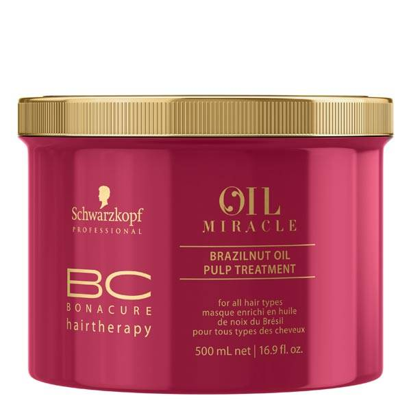 Schwarzkopf Masque BC Oil Miracle, enrichi en Huile de Noix du Brésil