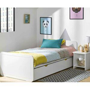 Ma Chambre d'Enfant Lit enfant avec sommier et matelas Lemon  Blanc 90x190 cm - Publicité