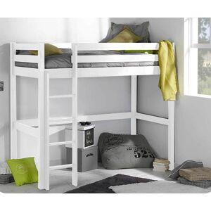 Ma Chambre d'Enfant Lit enfant mezzanine Cargo  Blanc 90x190 cm - Publicité