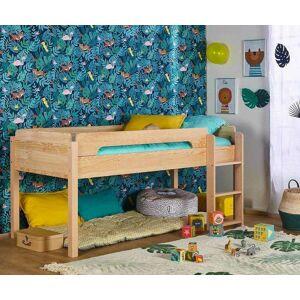 Ma Chambre d'Enfant Lit enfant mi-hauteur Sweet  Brut à peindre 90x190 cm - Publicité