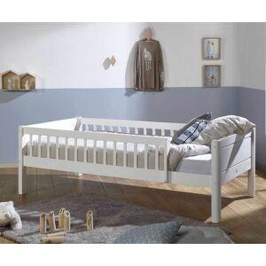 Ma Chambre d'Enfant Lit enfant avec barrières, sommier et matelas Rio  Blanc 90x190 cm - Publicité